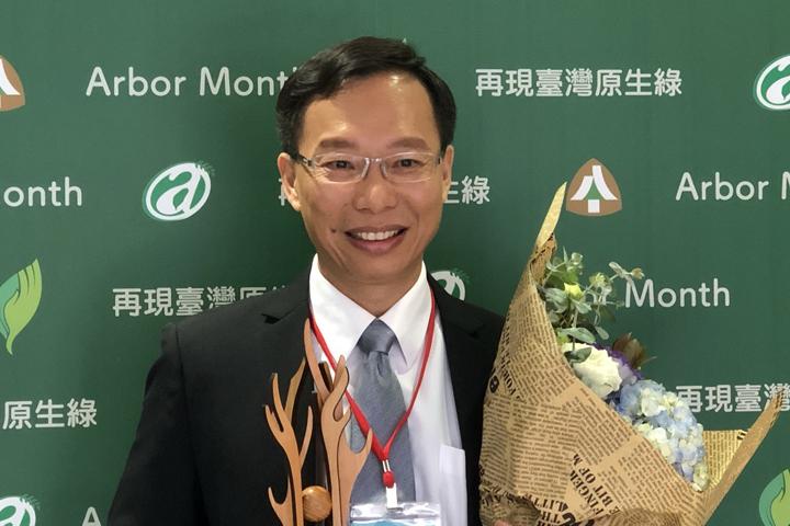 慈心基金會執行長蘇慕容  榮獲行政院農業委員會107年林業及自然保育有功人士