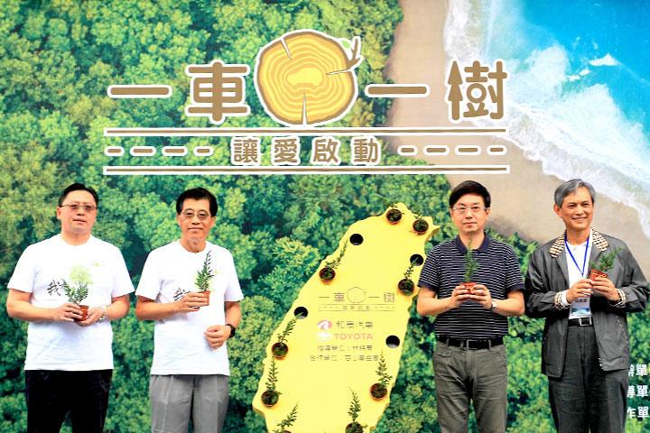 和泰企業基於對社會環境的責任感,委託慈心在全台規劃種樹十萬棵。